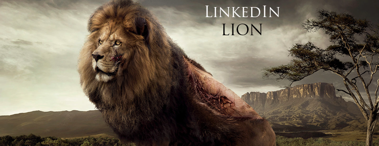 LinkedIn-Lion