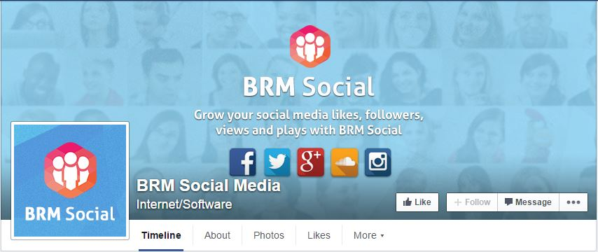Facebook Fan Pages BRM