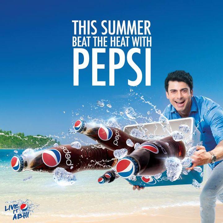 "Pepsi Featuring Indo-Pak Celebrity ""Fawad Khan"""