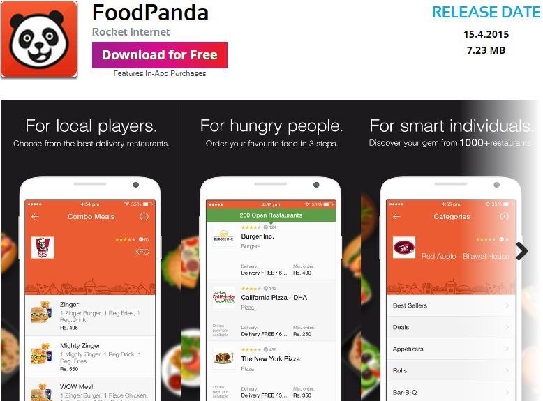 foodpandapk telenorapps collaboration