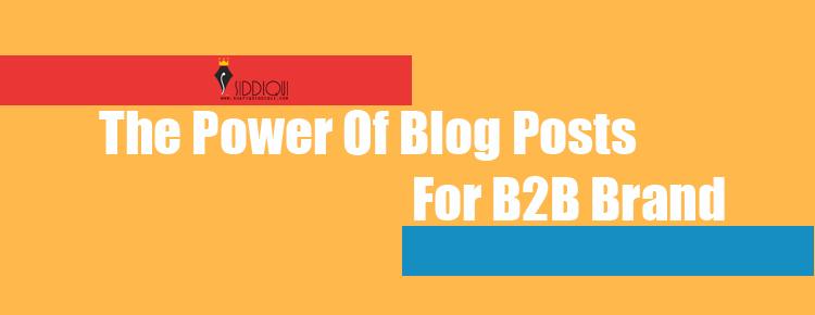 power-of-blog-post-for-b2b-brand