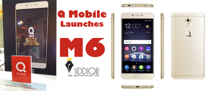 QMobile-Launches-M6---Shafiq-Siddiqui