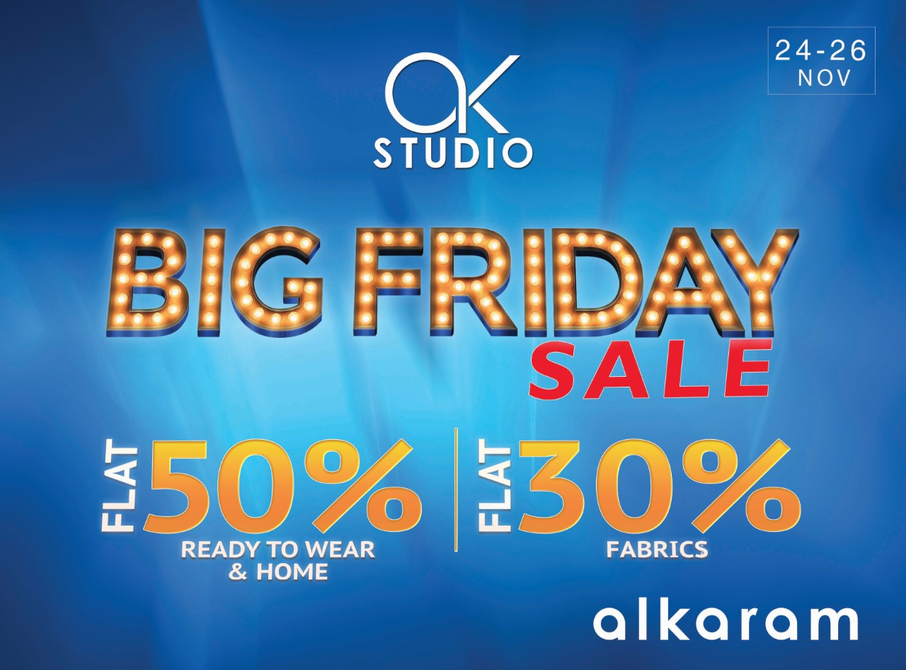 big friday sale Alkaram