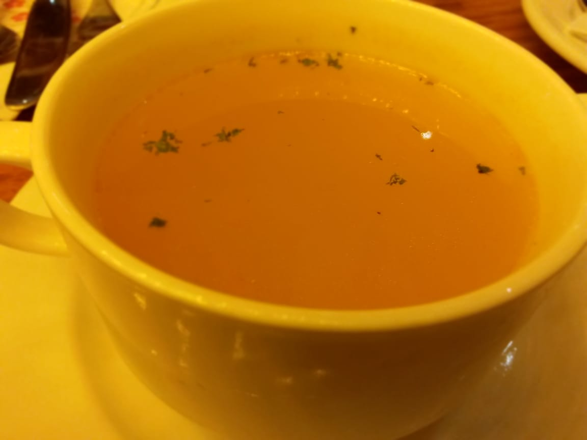 Lazzo De Cafe - Chicken Lemon Soup Shafiq Siddiqui